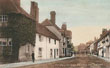 Old Postcard of Friday Street, Henley